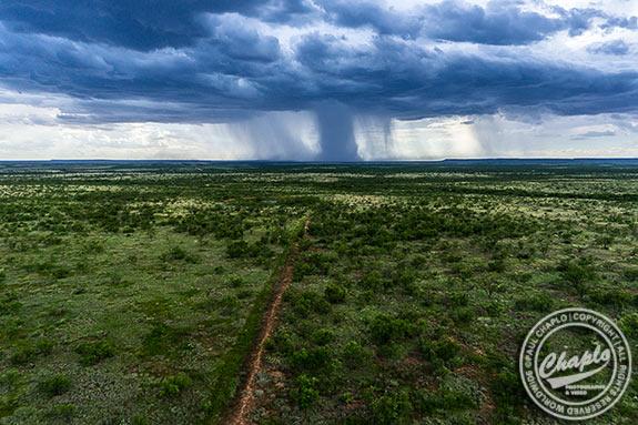 Paul Chaplo: Flyin' High  Over The Texas  Plains