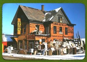 Second hand plumbing store, Brockton, Mass, 1940. Jack Delano