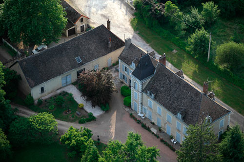 A modern view of Niépce's Le Gras estate. Photo by and courtesy of Pierre-Yves Mahé/Spéos.
