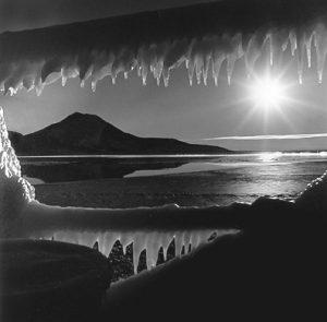 Antarctic Sunrise Dark (c) Arthur H. Bleich copy