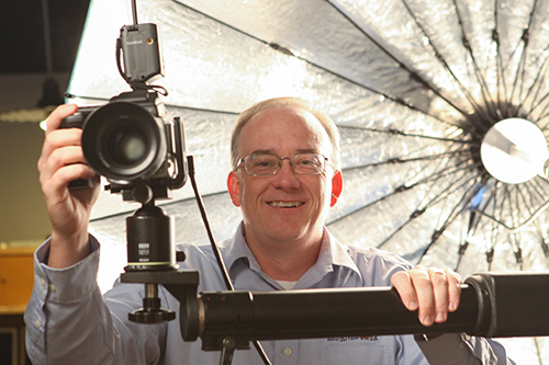 Red River VP Drew Hendrix gets a chance behind the lens.