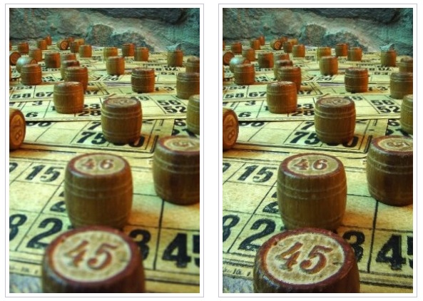 "These ""before"" (left) and ""after"" (right) game board images show that with Helicon Focus you don't need special cameras or lenses to keep everything in focus from near-to-far."
