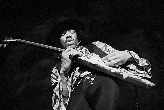 A Rock Photographer's Tribute to Jimi Hendrix