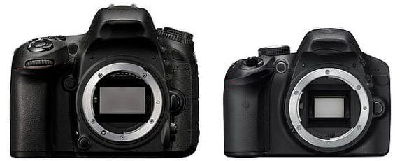 sensor-sizes-on-two-cameras