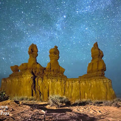 Timelapse: Valley of Fire Workshops  will Focus on Night Skies of the Nevada Desert in October
