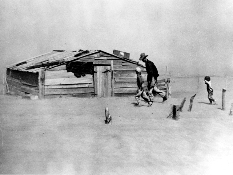 If Arthur Rothstein had worried about ruining his camera, this iconic image of a 1936 killer dust bowl storm in Oklahoma might never have been taken. Library of Congress Photo.