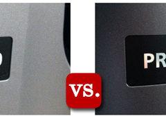 Canon PRO-100 vs. Canon PRO-10 Photo Inkjet Printer Comparison