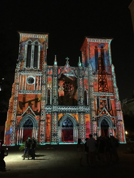 Light Show called San Antonio|The Saga at Main Plaza