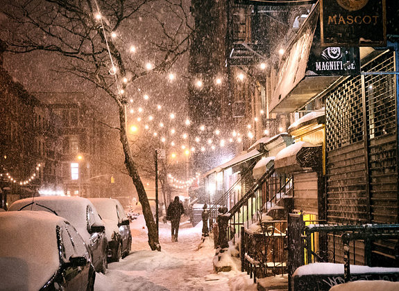 New York In The Snow
